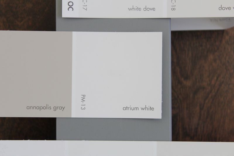 White dove paint color