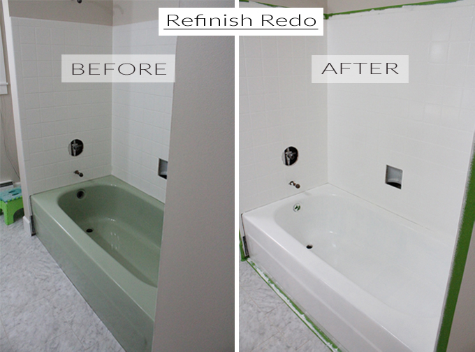 Guest Bath Refinish Remix! | The Caldwell Project