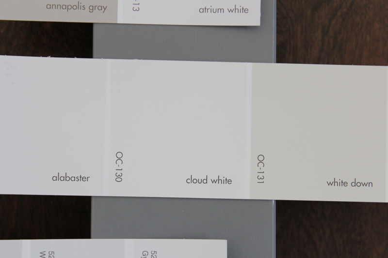 My Least Favorite Was Benjamin Moore Atrium White This Kind Of Heading In The Opposite Direction From First Two It Much Warmer