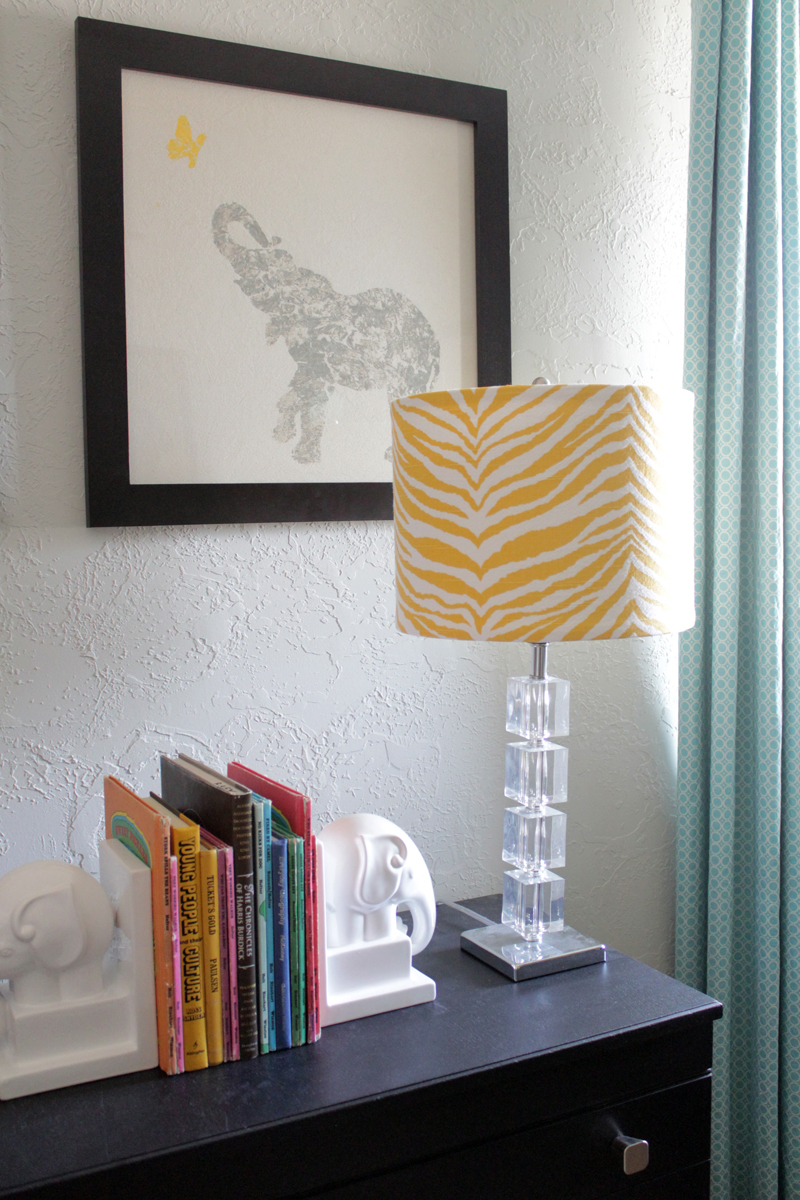 Cover a lamp shade in 5 easy steps the caldwell project aloadofball Images