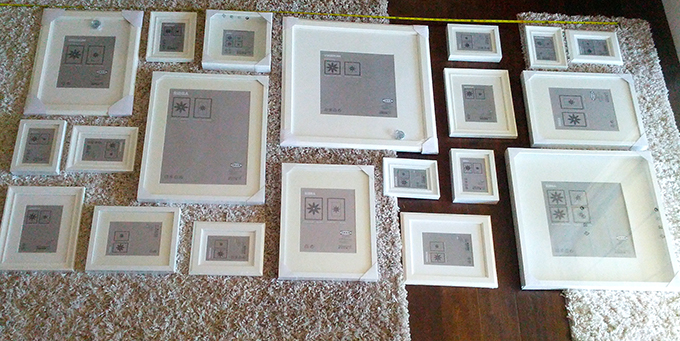 Ikea Frame Layout Ideas | Lini Home Decorating Ideas