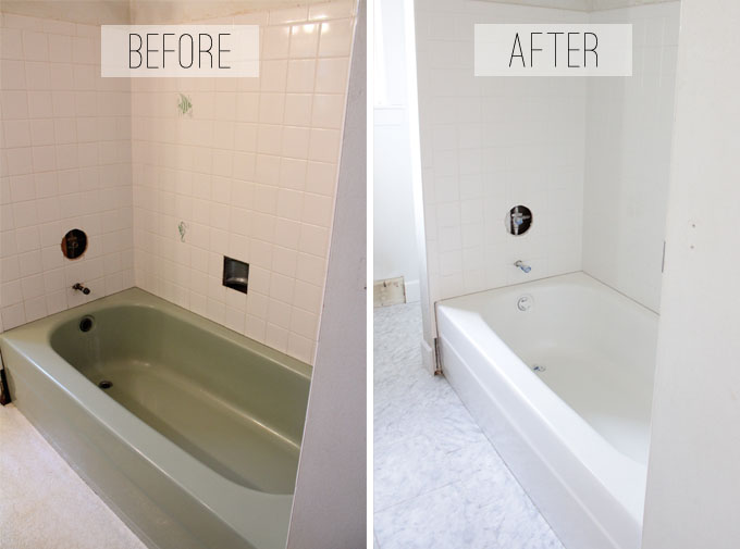 To Spray or Not to Spray...A Bathtub that Is | The Caldwell Project