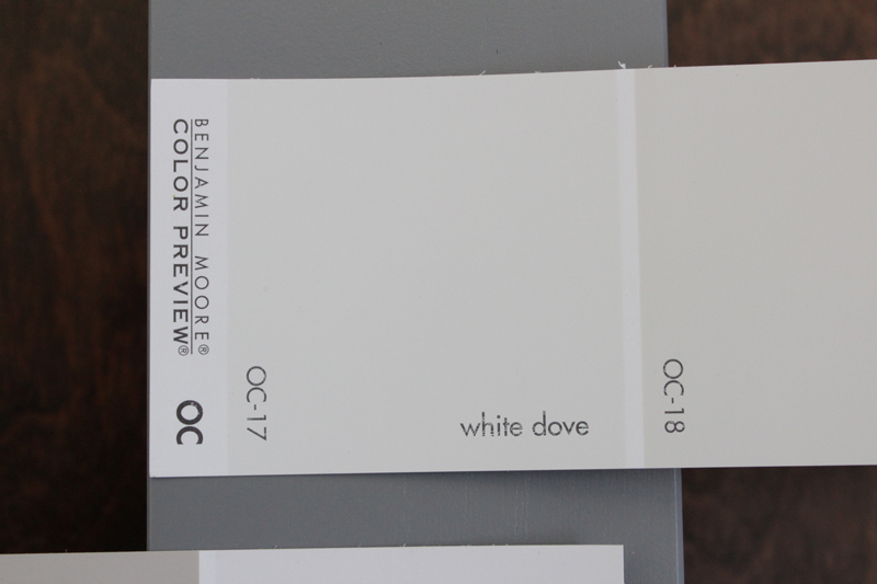 Shades of white paint the caldwell project for Dove white paint color